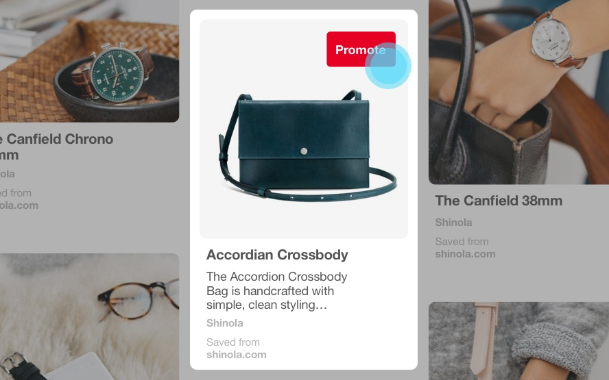 promoted pins adverteren op pinterest